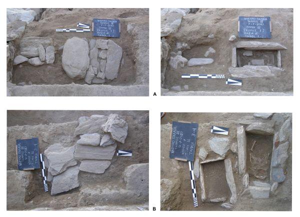Παιδικές ταφές της πρώιμης εποχής σιδήρου κάτω από δάπεδο σπιτιού