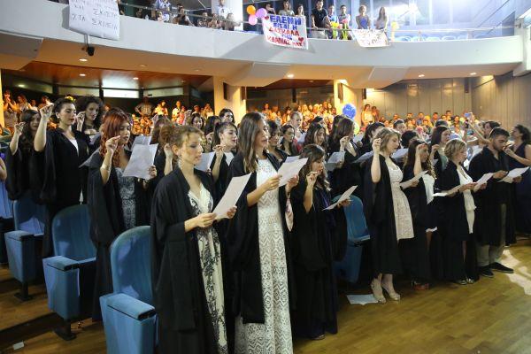 Τα πτυχία τους παρέλαβαν 88 απόφοιτοι του Παιδαγωγικού Τμήματος Ειδικής Αγωγής