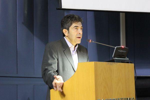 Βασίλης Αργυρόπουλος: «Τα μουσεία του χθες και του σήμερα δεν έχουν καμία σχέση μεταξύ τους σε ό,τι αφορά την προσβασιμότητα. Εχουν γίνει σημαντικά βήματα τα οποία μάλιστα συντελούν στην καταπολέμηση της κοινωνικής ανισότητας» (φώτο: Ράνια Μανασή)