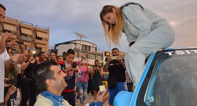 Η στιγμή που έκανε τον γύρο του κόσμου από το φετινό Rally Αλμυρού