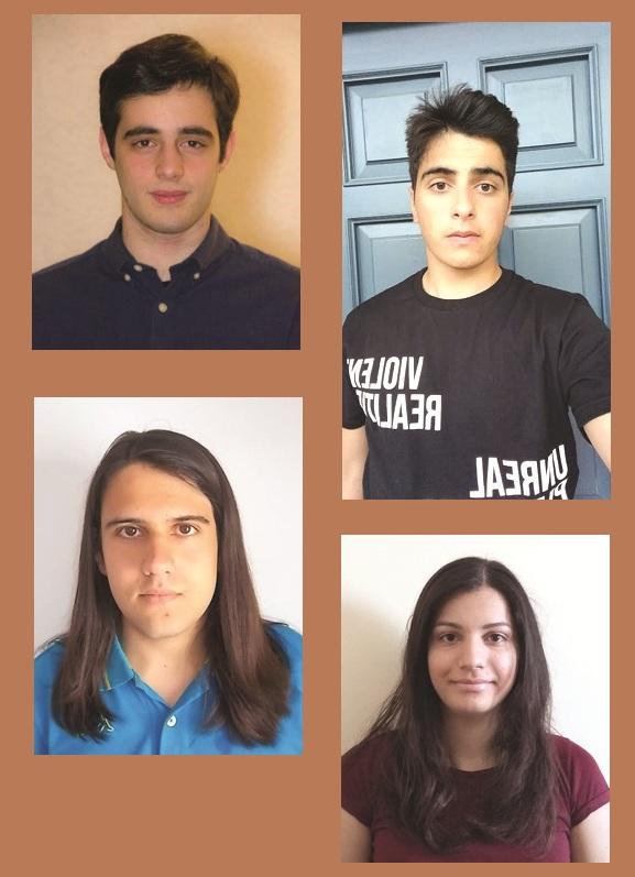 Από πάνω και αριστερά: Ο Χριστόδουλος Παππάς, ο Δημήτρης Σαμαράς, ο Βασίλης Κυριακάκης και η Ναταλία Σερέτη