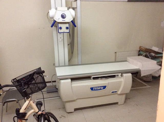Το ακτινολογικό μηχάνημα παραμένει σε ακινησία… αφού έχει αποχωρήσει ο χειριστής, και για τις εξετάσεις οι ασθενείς απευθύνονται σε ιδιώτες