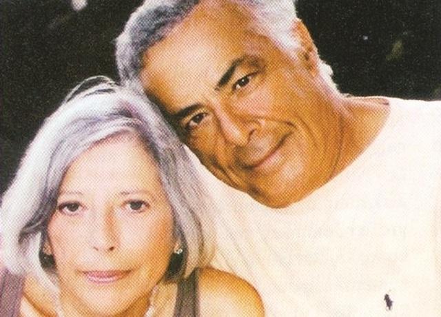 Ο Ρίτσαρντ Ρομάνους με την ελληνικής καταγωγής σύζυγό του Ανθια