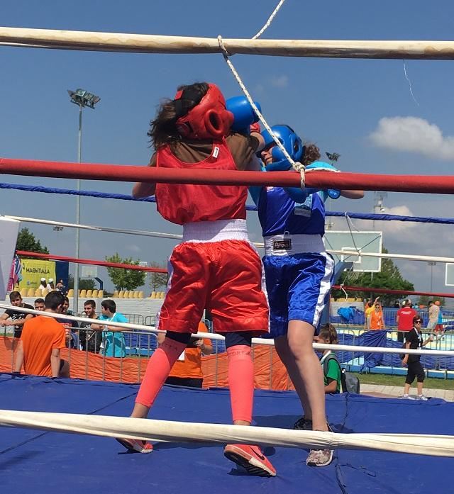 Αργυρό μετάλλιο στην πυγμαχία