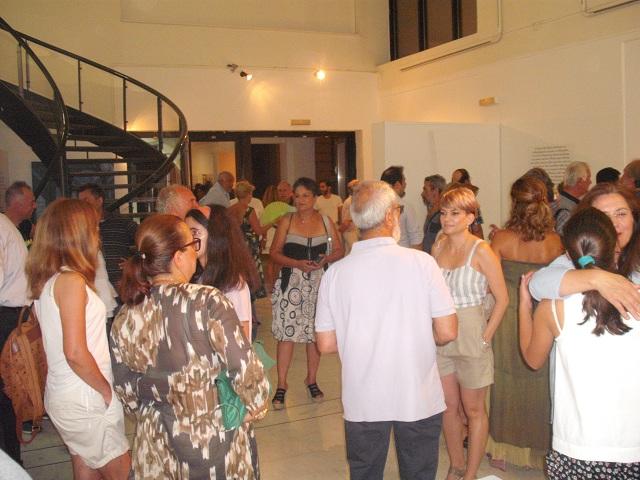 Πλήθος κόσμου στο αφιέρωμα στον Εβαρίστο Ντε Κίρικο