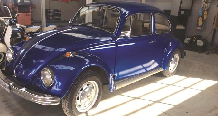 Ο θρυλικός «Σκαραβαίος» της Volkswagen