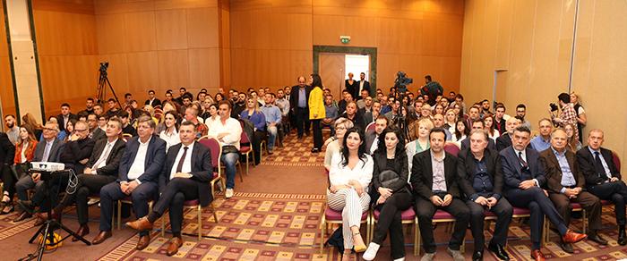 Η εκδήλωση της ΕΔΑ ΘΕΣΣ στο Divani Palace Larissa στη Λάρισα