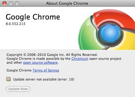 Κυκλοφόρησε το Google Chrome 8