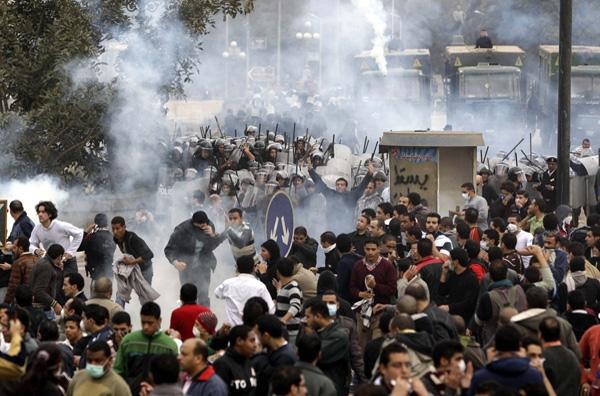 Ξεσηκωμός κατά Μουμπάρακ