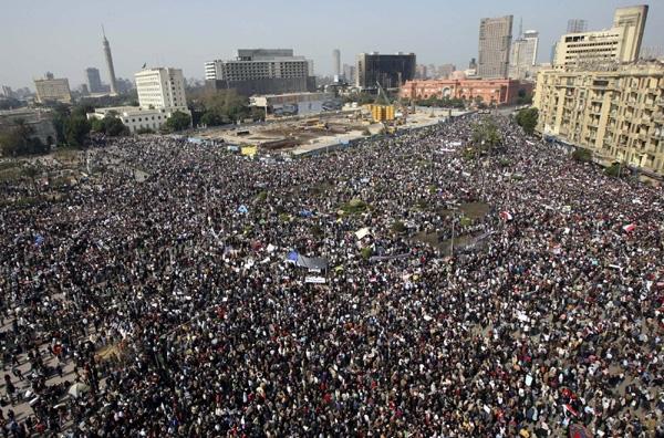 Λαοθάλασσα στο Κάιρο