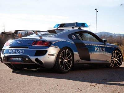 Περιπολικό Audi R8 GTR ABT με 625 ίππους….