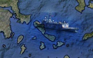 Δέκα ελληνικά νησιά περιέπλευσε τουρκικό πολεμικό πλοίο!