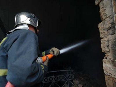 Θεσσαλονίκη:Βρέθηκε νεκρός και δεμένος ανάμεσα στις φλόγες