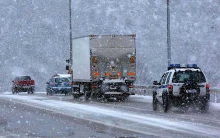 Απαγόρευση κυκλοφορίας φορτηγών στην Εθνική Οδό Τρικάλων –Ιωαννίνων