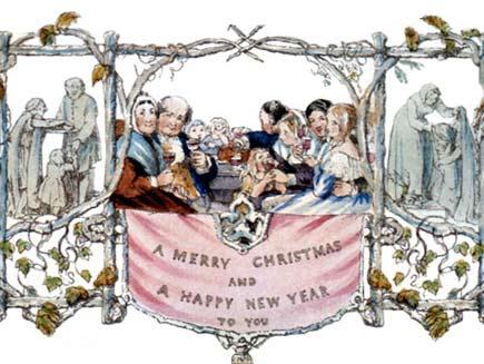 Η Προέλευση της Χριστουγεννιάτικης κάρτας