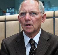 Σόιμπλε: Οι χρηματοπιστωτικές αγορές δεν θα γνωρίσουν κραχ το 2012