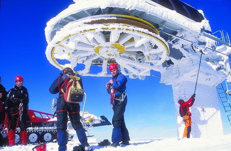 Δράμα: Ανοικτό το Χιονοδρομικό του Φαλακρού