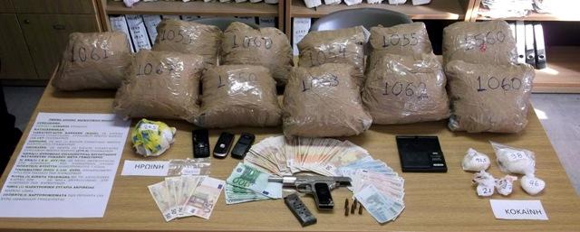 Συνελήφθη 28χρονος έμπορος ναρκωτικών στο Βόλο