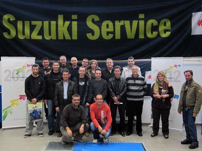 Οι καλύτεροι τεχνικοί Suzuki του 2011