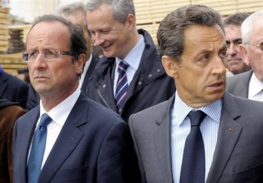 Αρχισαν τα «γαλλικά» Ολάντ και Σαρκοζί