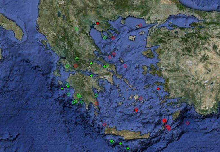 10 σεισμοί σήμερα στην Ελλάδα!