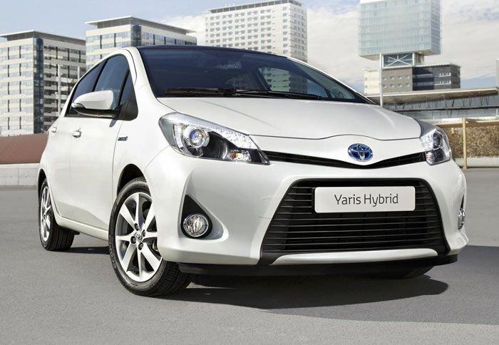 Έτοιμο το υβριδικό Toyota Yaris