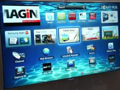 Samsung Smart TV: αναγνώριση προσώπου, κινήσεων παλάμης και φωνητικών εντολών