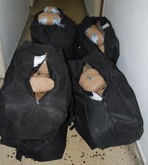 Προσπάθησαν να περάσουν στην Ελλάδα 150 κιλά χασίς
