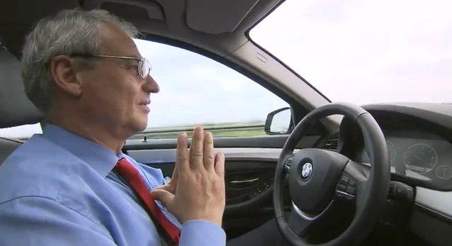 Αυτόνομο σύστημα οδήγησης της BMW