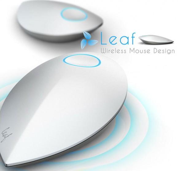 Kinetic Leaf, το ασύρματο ποντίκι που φορτίζει με την κίνηση