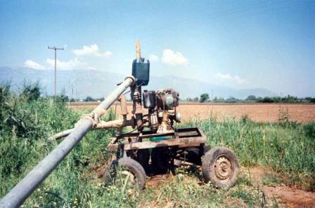 Έκλεψαν σωλήνες από χωράφι στην Καρδίτσα