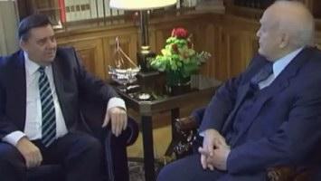 Oλοκληρώθηκε η συνάντηση Παπούλια-Καρατζαφέρη