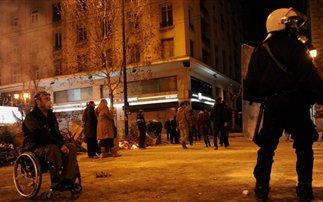 Συγκλονιστική φωτογραφία από τη χτεσινή διαδήλωση