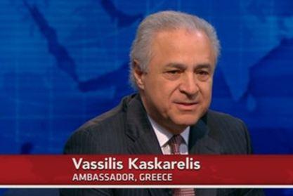 Συνέντευξη του πρέσβη της Ελλάδας, Βασίλη Κασκαρέλη, στο τηλεοπτικό δίκτυο «PBS»