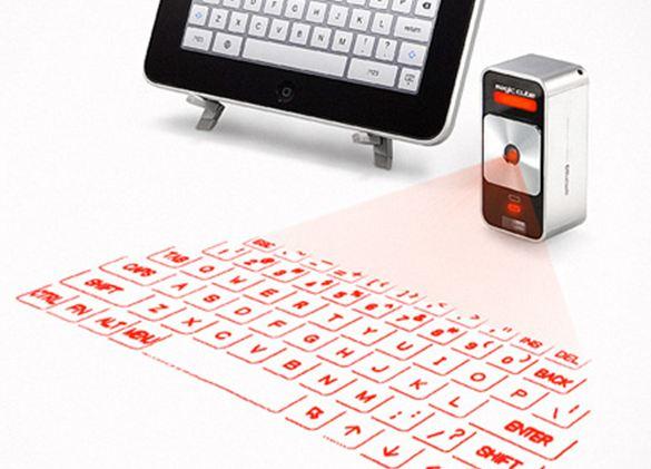 Εικονικό laser πληκτρολόγιο για το iPad και το iPhone