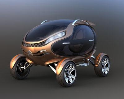 Citroen EGGO Concept Car- Θα σας συναρπάσει!