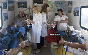 Εθελοντική Αιμοδοσία στην Σκόπελο
