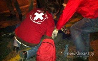 Ένας τραυματίας στην Αμαλίας