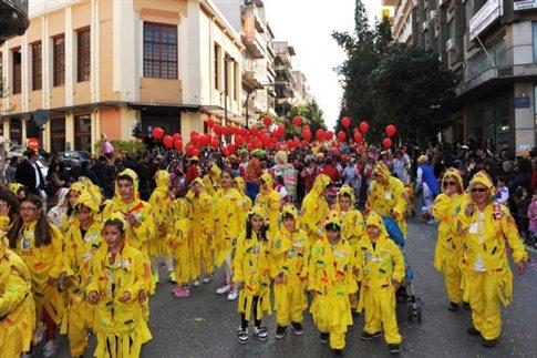 Χιλιάδες μασκαράδες στο πατρινό Καρναβάλι των Παιδιών