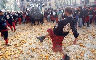 Η μάχη των πορτοκαλιών