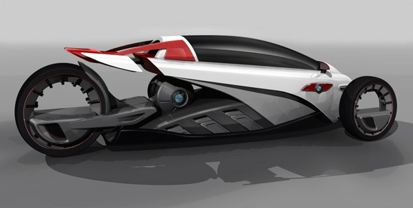 BMW i1 - Το μονοθέσιο που συνδυάζει την μοτοσυκλέτα με το αμάξι