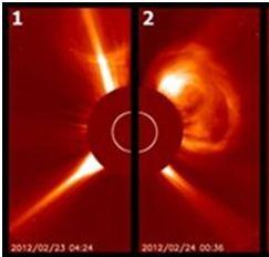 Νέες ηλιακές εκρήξεις βομβαρδίζουν τη Γη με σωματίδια