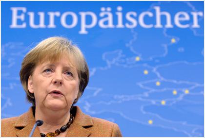 Μέρκελ: Η ευρωζώνη δεν έχει βγει ακόμα από την κρίση