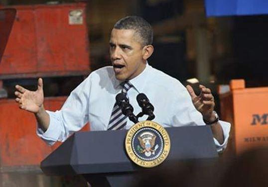 """Μ. Ομπάμα: Το θέμα δεν είναι """"αν"""" αλλά """"πότε"""" θα πέσει το καθεστώς Άσαντ"""