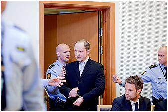 Νορβηγία: Κατηγορίες για τρομοκρατία εναντίον του Μπρέιβικ