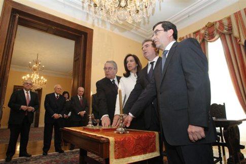 Ενώπιον Παπούλια-Παπαδήμου η ορκωμοσία των νέων υπουργών
