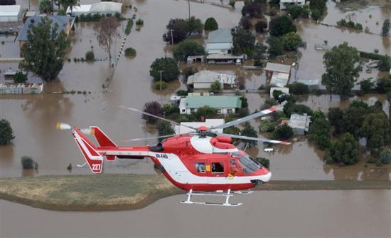 Στο έλεος των πλημμυρών για δεύτερη εβδομάδα η Αυστραλία