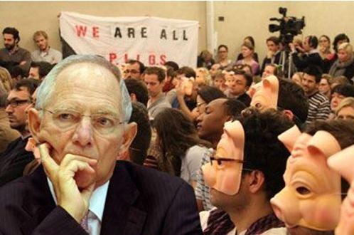 «PIGS» κατά Σόιμπλε για την Ελλάδα