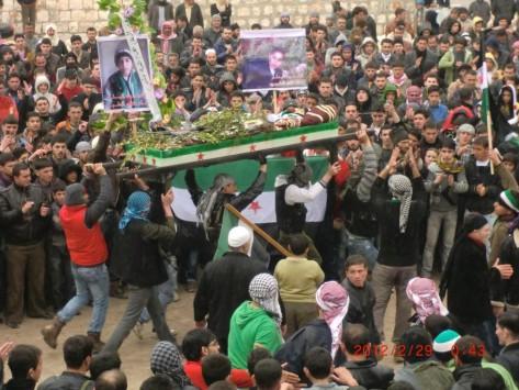 Συρία: Πυρά σε κηδεία τραυμάτισαν τρεις