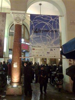 Υπό βροχή και με «Αγανακτισμένους» ξεκίνησε το 14ο Φεστιβάλ Ντοκιμαντέρ